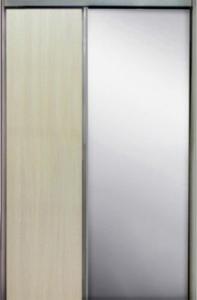 Дверь раздвижная 904х2250 мм Дуб Молочный